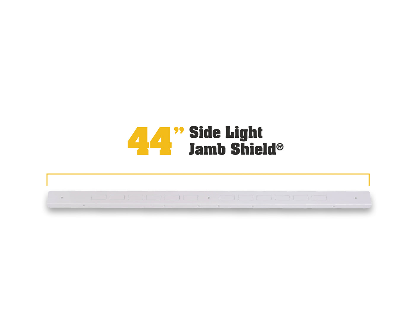 44 Quot Jamb Shield Reinforce Entry Door With One Sidelight