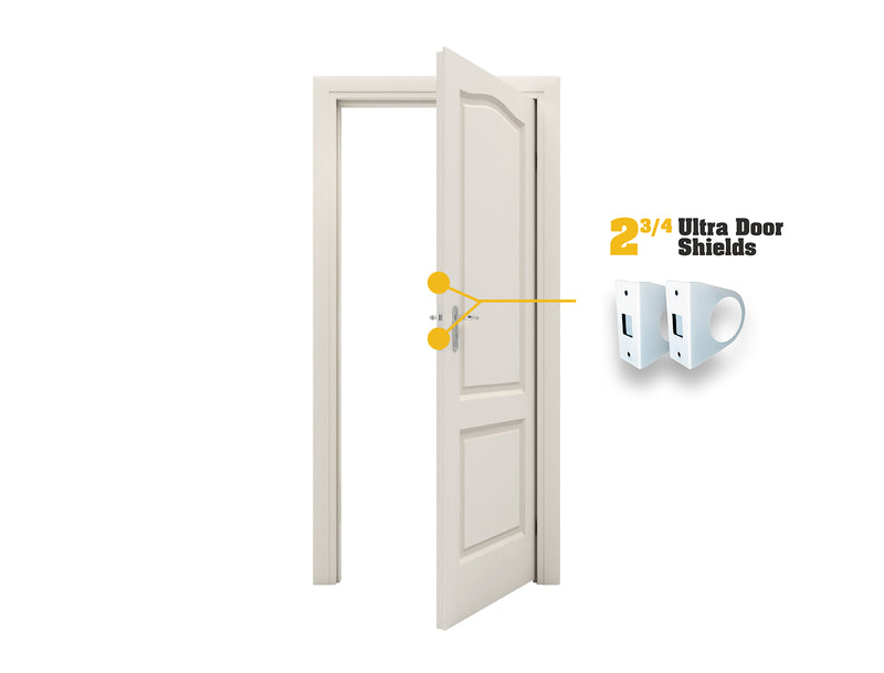"Ultra Door Shield - 2-3/4"" Backset"