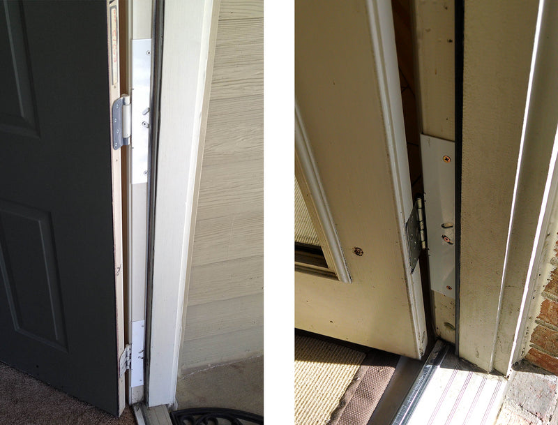 Door Armor Hinge Shield
