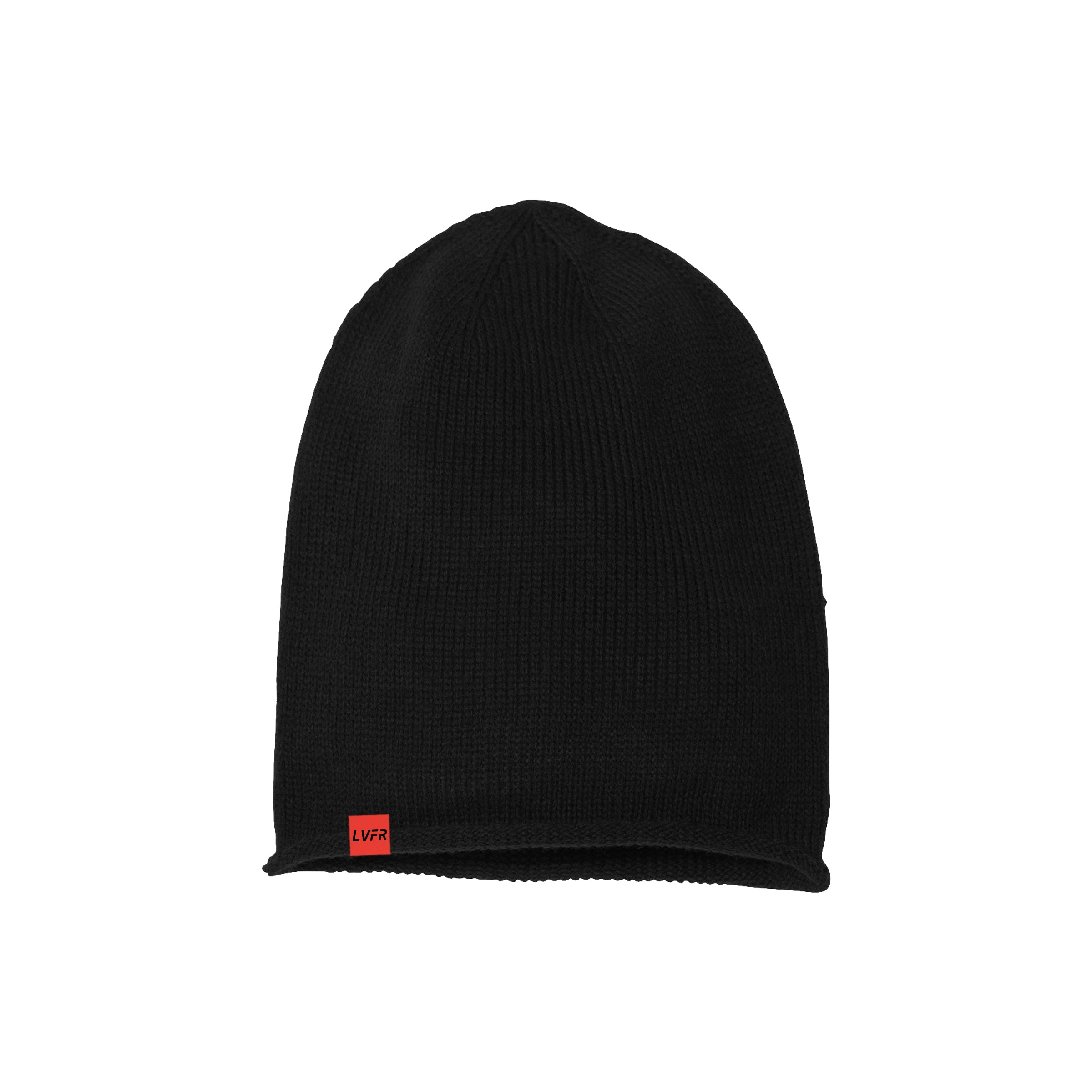 LVFR Oversized Beanie - Black – Live Free Industries 677fe669116