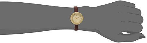 Vivienne Westwood Women's VV097GDBR Edge Analog Display Swiss Quartz Brown Watch