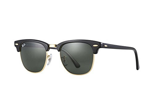 Ray Ban Sunglasses Clubmaster 3016 (49 mm, Crystal Green Lens)