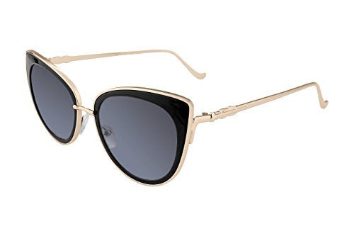 Cat Eye Metal Frame Women Sunglasses UV400 HD Lenses B2249
