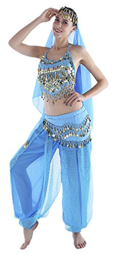 Blue Indian Halloween Costumes