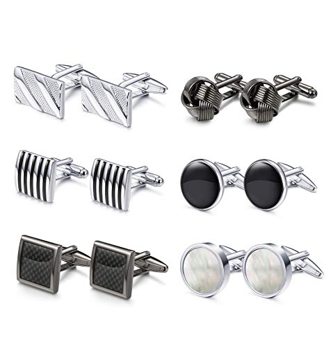Classic Business Cufflinks Set for Men