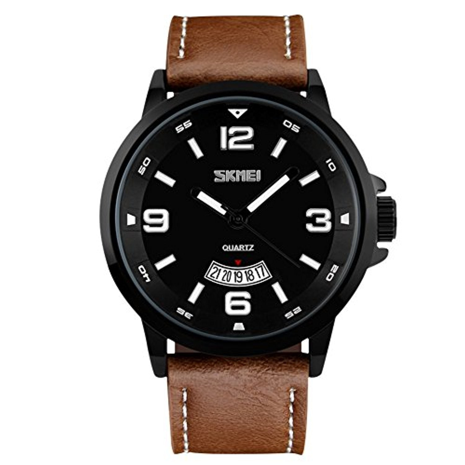 strap numeral quartz roman product wrist waterproof first from casual japanese buying new watches business benyar design band leather watch