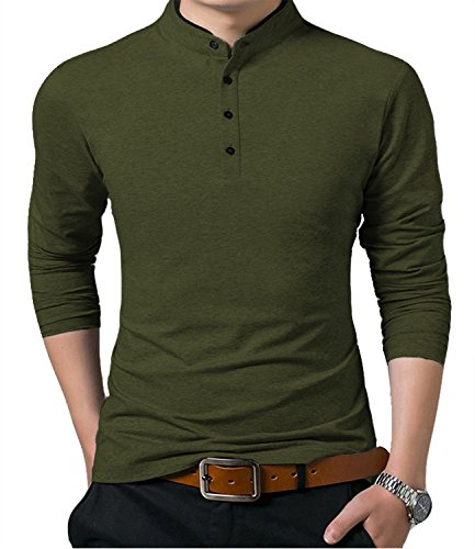 Mens Summer Slim Fit Pure Color Short Sleeve Polo Casual T-Shirts