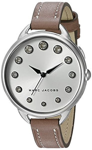 Marc Jacobs Women's Betty Cement Leather Watch - MJ1476