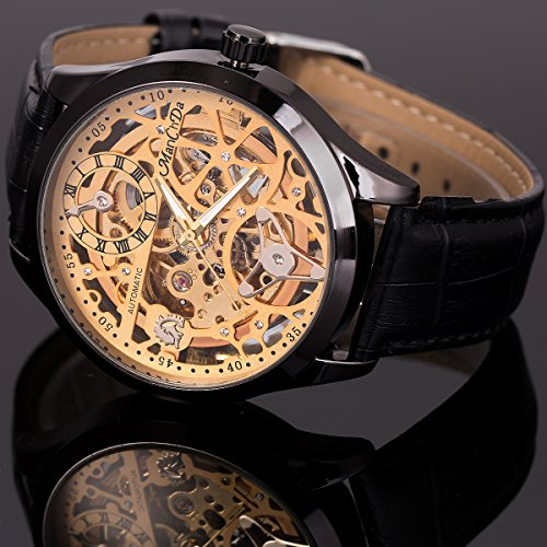Skeleton Automatic Mechanical Steampunk Watches