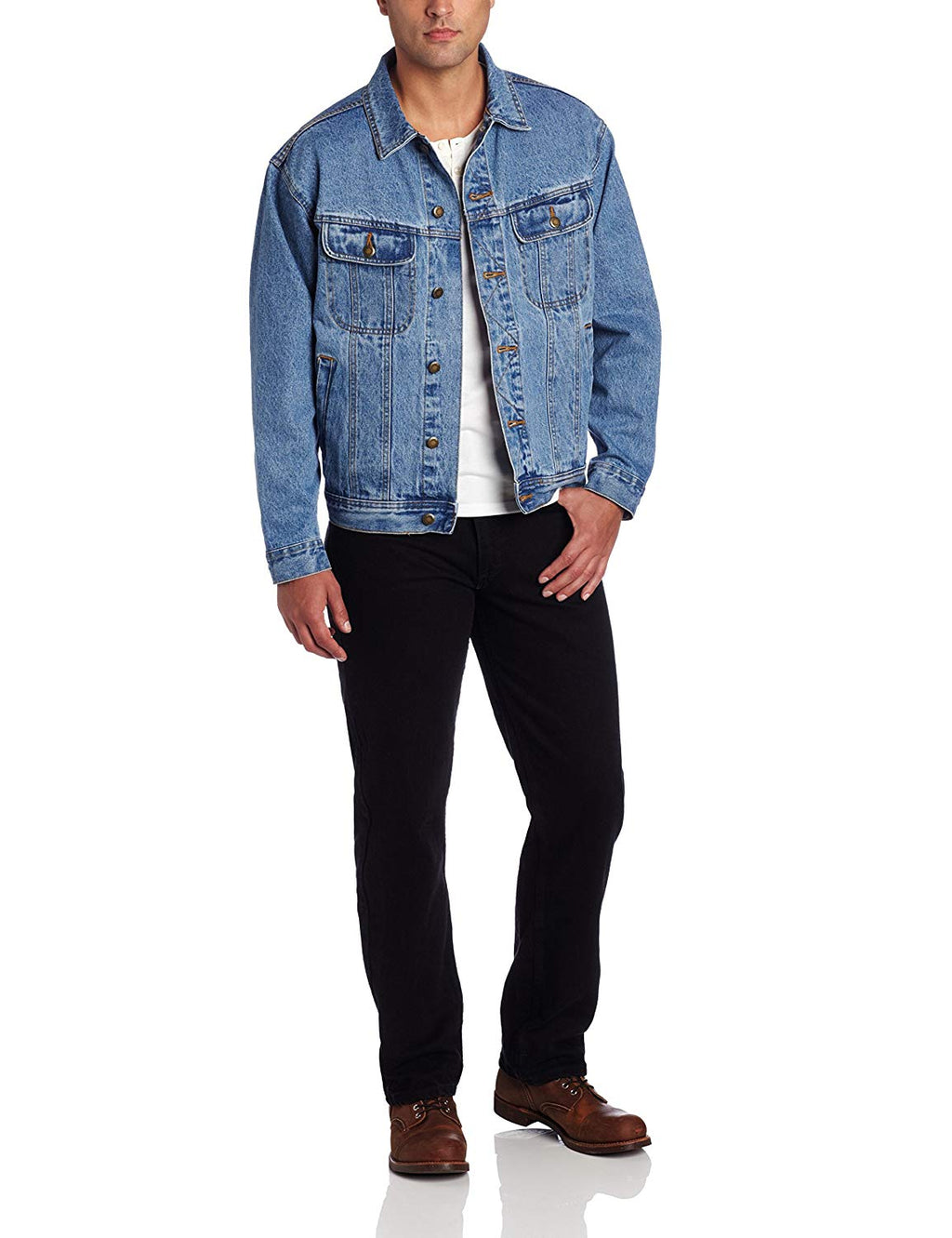 Men's Rugged Wear Unlined Denim Jacket