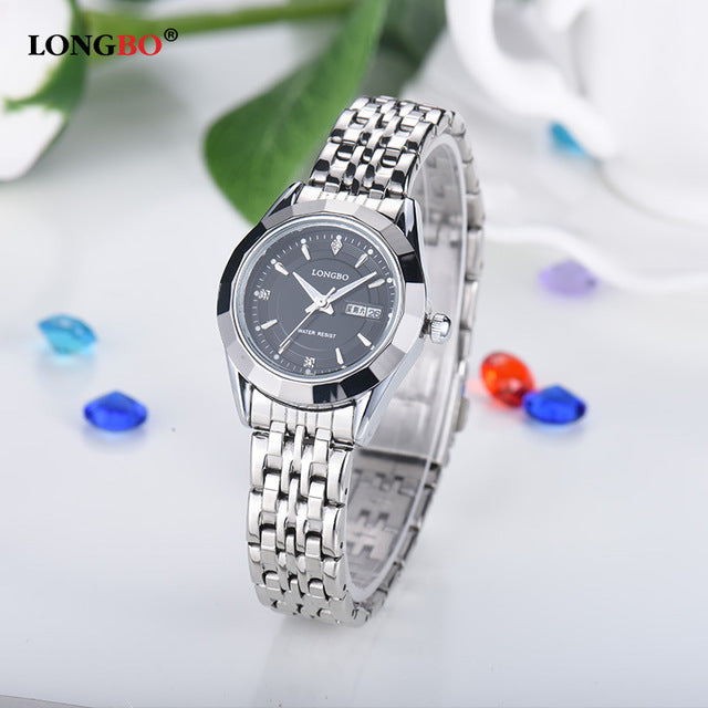 LONGBO Stainless Steel Bracelet Watch 80164
