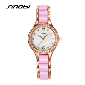 SINOBI Rose Gold Bracelet Watch