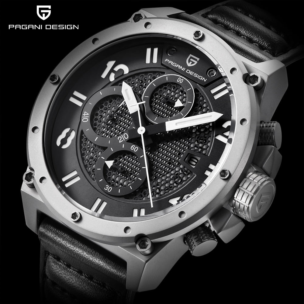 PAGANI DESIGN Multi-function Sterling Diver's Watch
