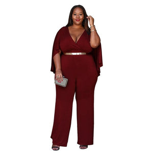 Hot Summer High Waist Slim Fit Jumpsuit for Women