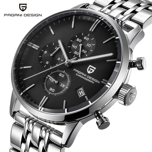 PAGANI DESIGN Sterling Multi-function Dress Watch