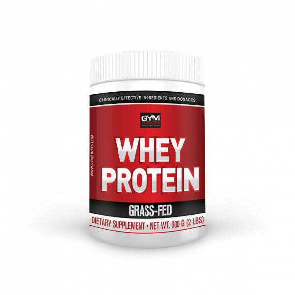 Whey Protein 100% Grass Fed 900 grams (2 lbs) - gymjunkies