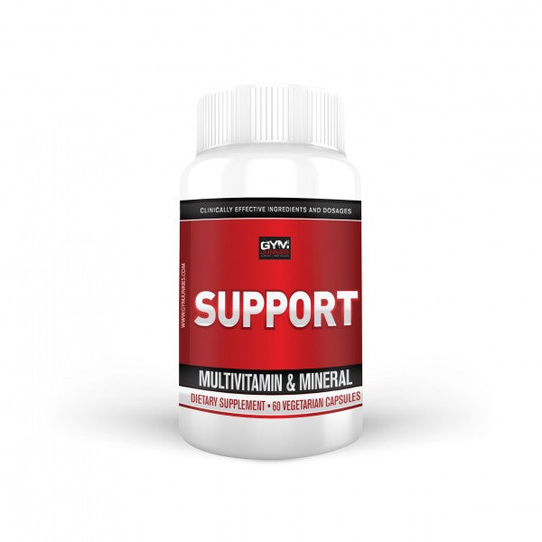 Twice Daily Multivitamin SUPPORT 60 vegetarian capsules - gymjunkies