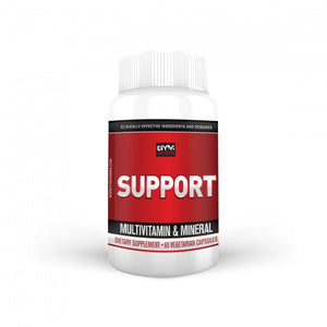 Twice Daily Multivitamin SUPPORT 60 vegetarian capsules - gymjunkiesfitness