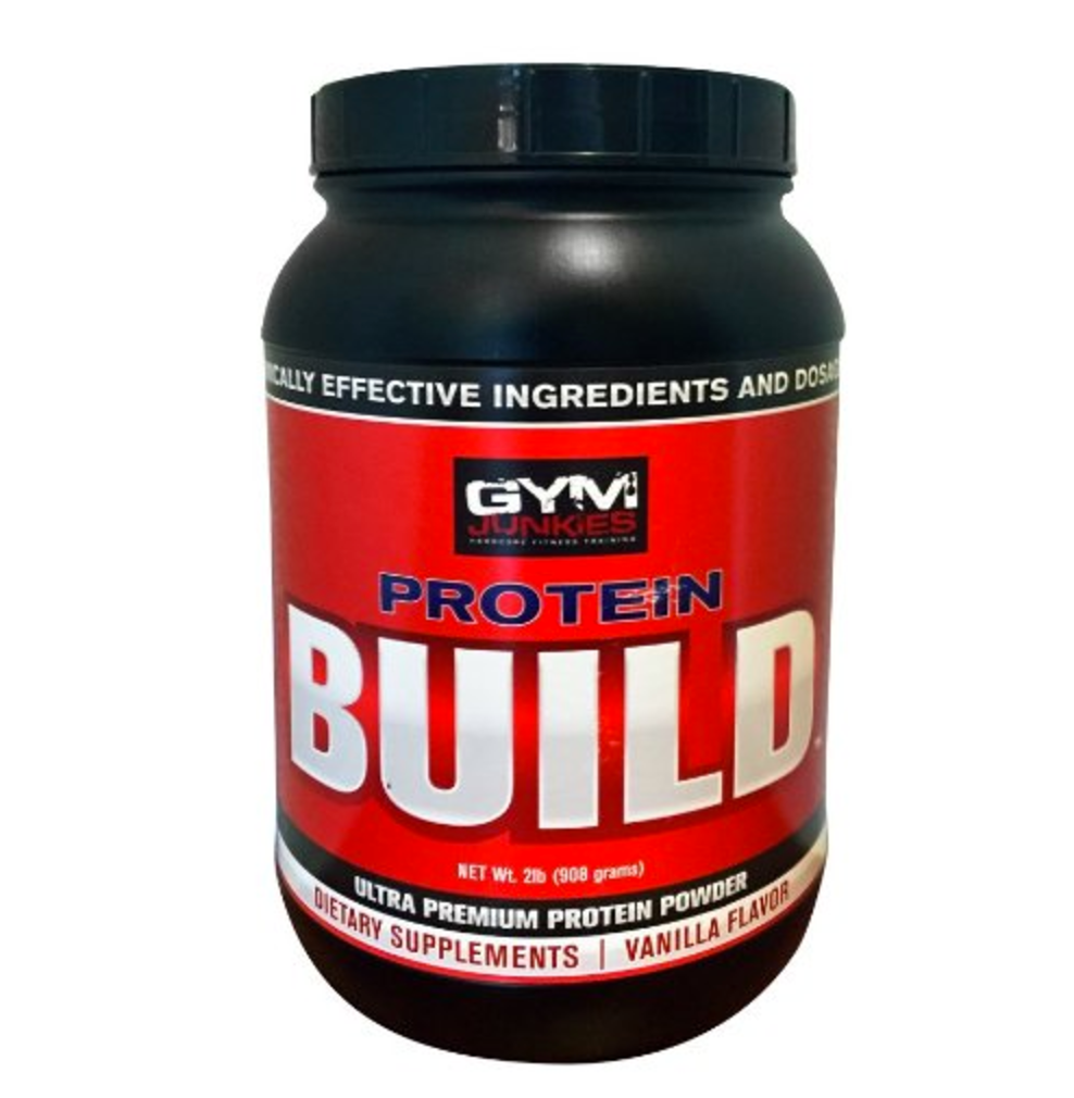 BUILD Whey Protein 908 g (2LB) - gymjunkiesfitness