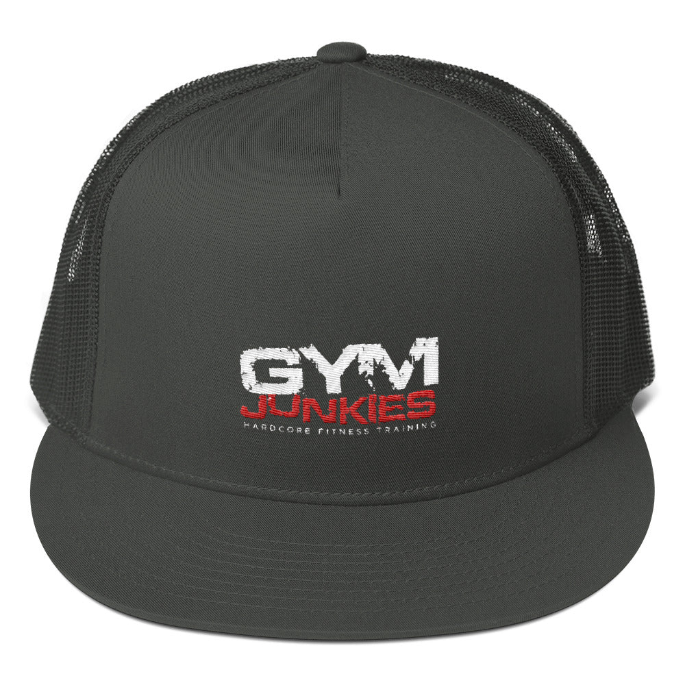 GymJunkies Mesh Back Snapback - gymjunkies
