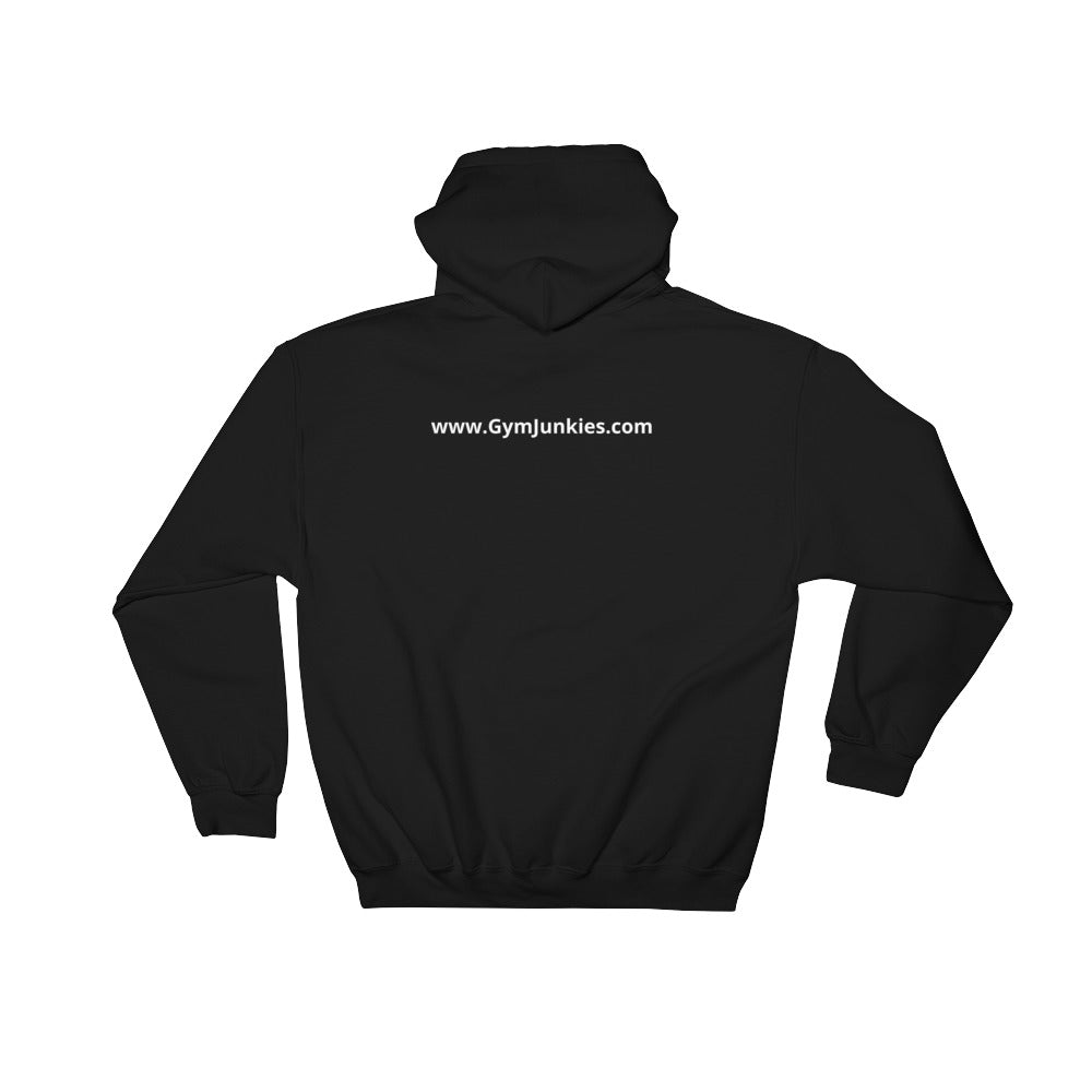GymJunkies Hooded Sweatshirt - gymjunkies