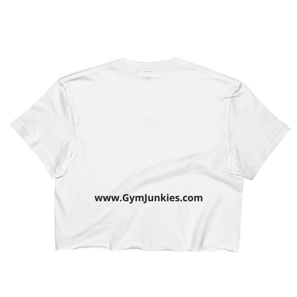 GymJunkies Ladies Crop Top - gymjunkies
