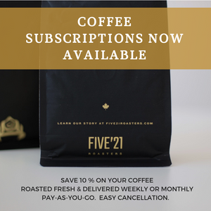 Coffee Subscriptions in Calgary