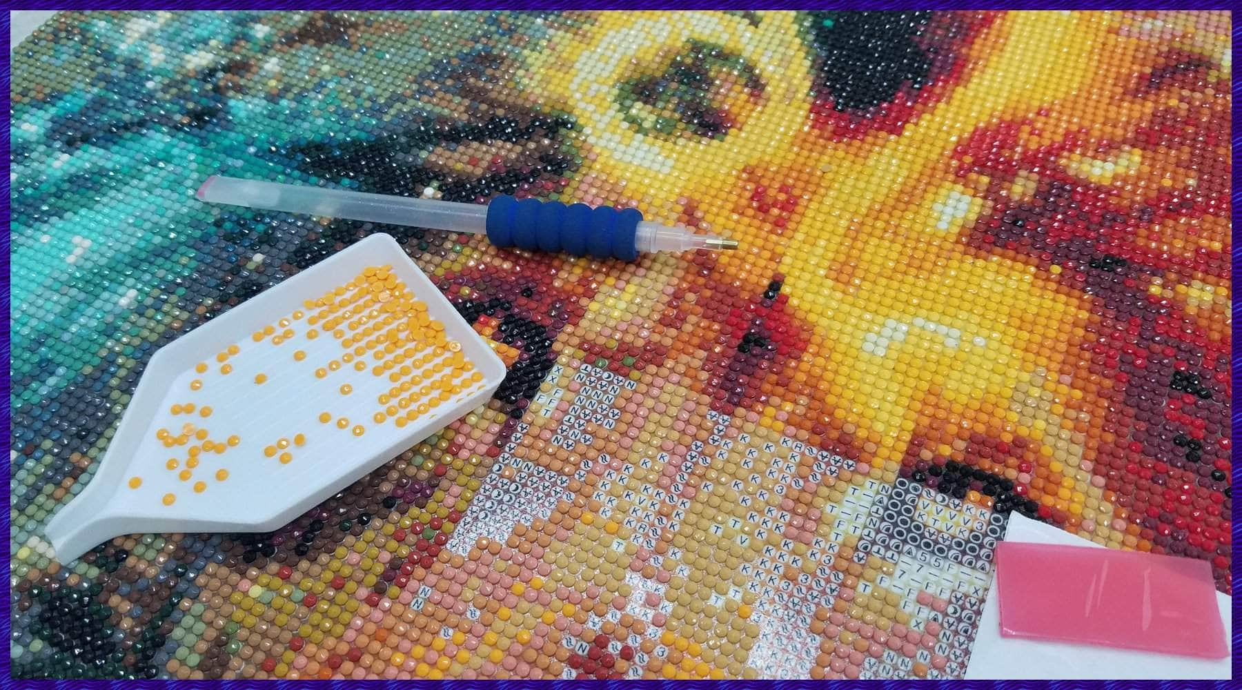 Top 10 Tips and Tricks for Diamond Painting