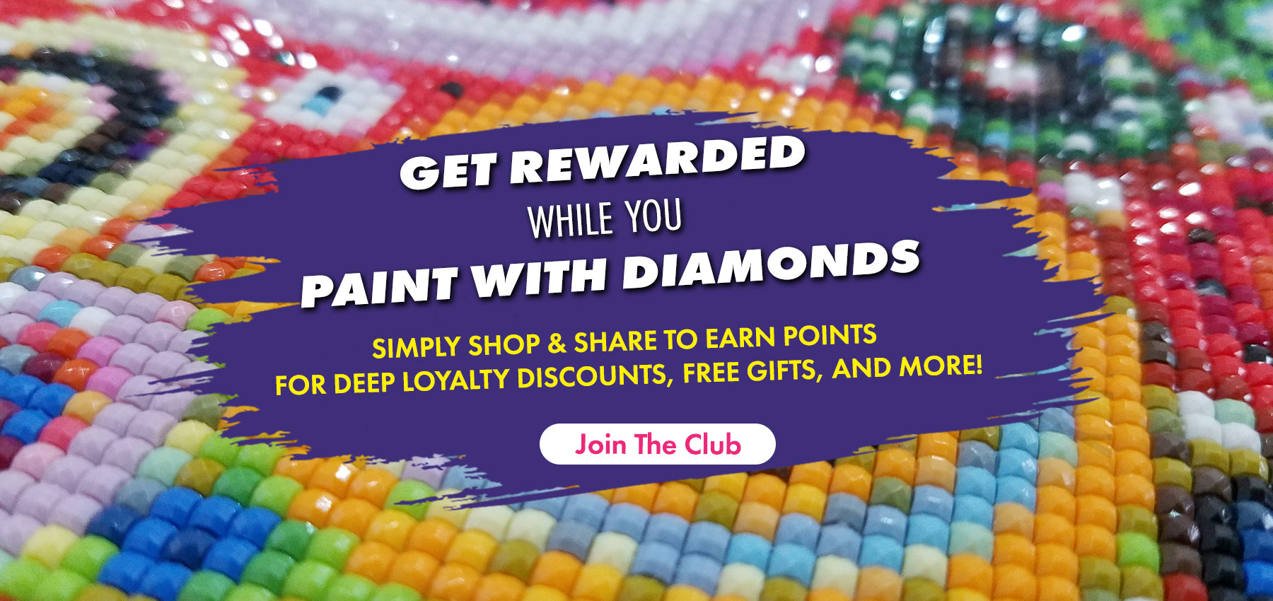 Pretty Neat Creative Diamond Painting Loyalty Club
