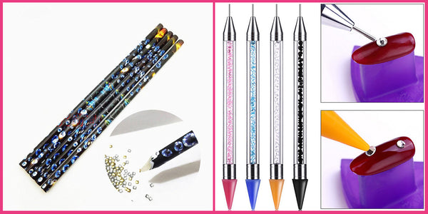 Two types of diamond painting wax pen