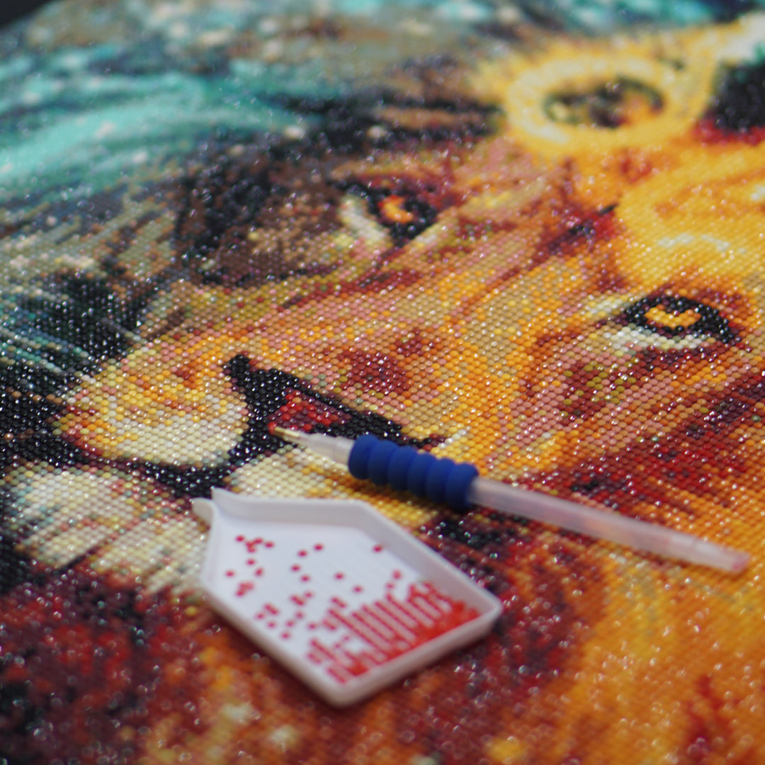 diamond painting at Pretty Neat Creative