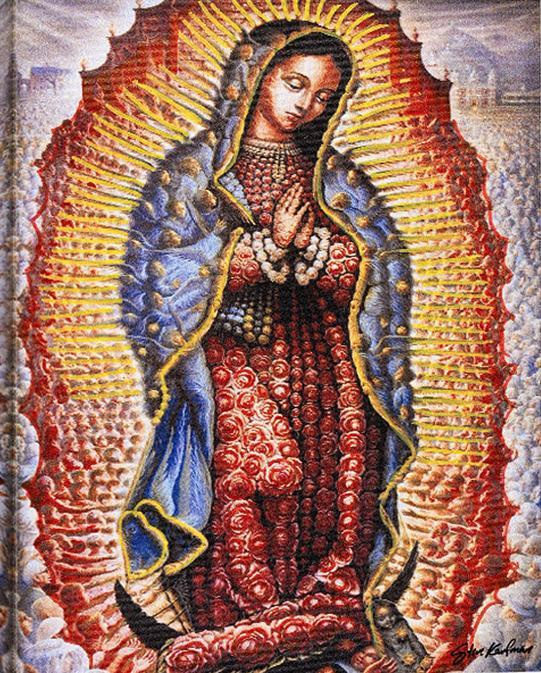12x16inches Our Lady of Guadalupe Square Diamond Painting