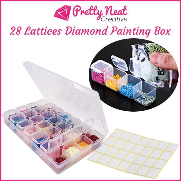 28 Lattices Diamond Painting Box