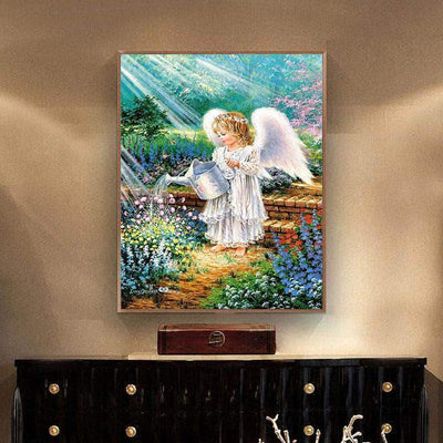 An Angels Gift Square Diamond Painting