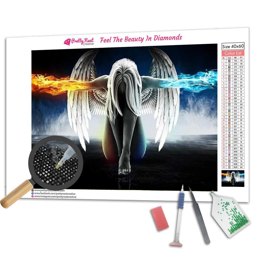 Angel & Wings 5D Square Diamond Painting