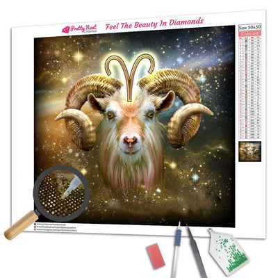Aries Diamond Painting