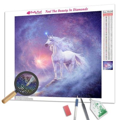 Astral Unicorn Diamond Painting