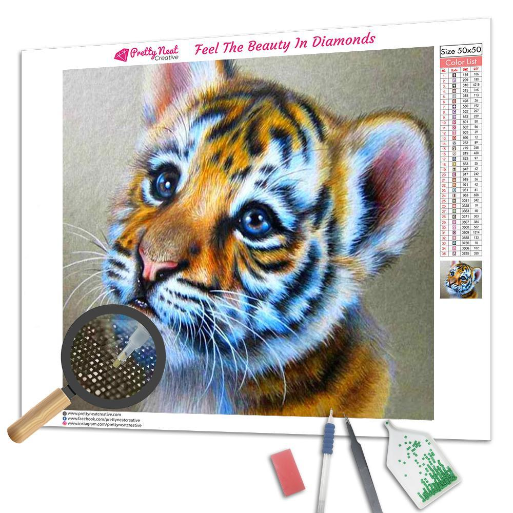 BaBy Tiger Diamond Painting