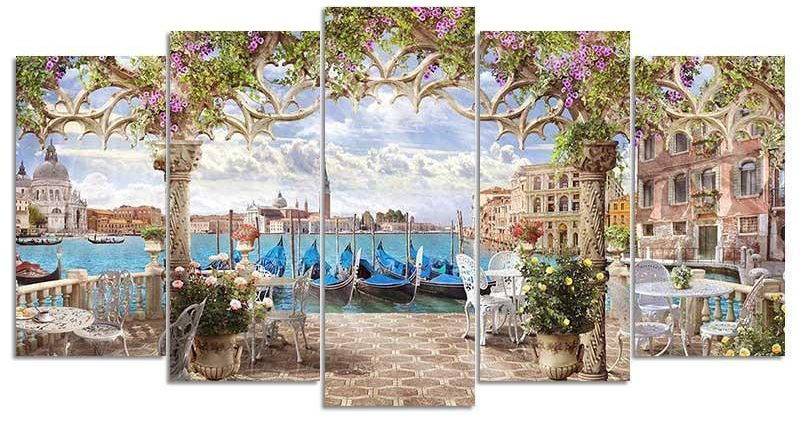 Beauty Of Rome Square Diamond Painting