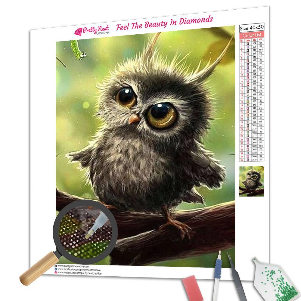 Bubo Owl Diamond Painting