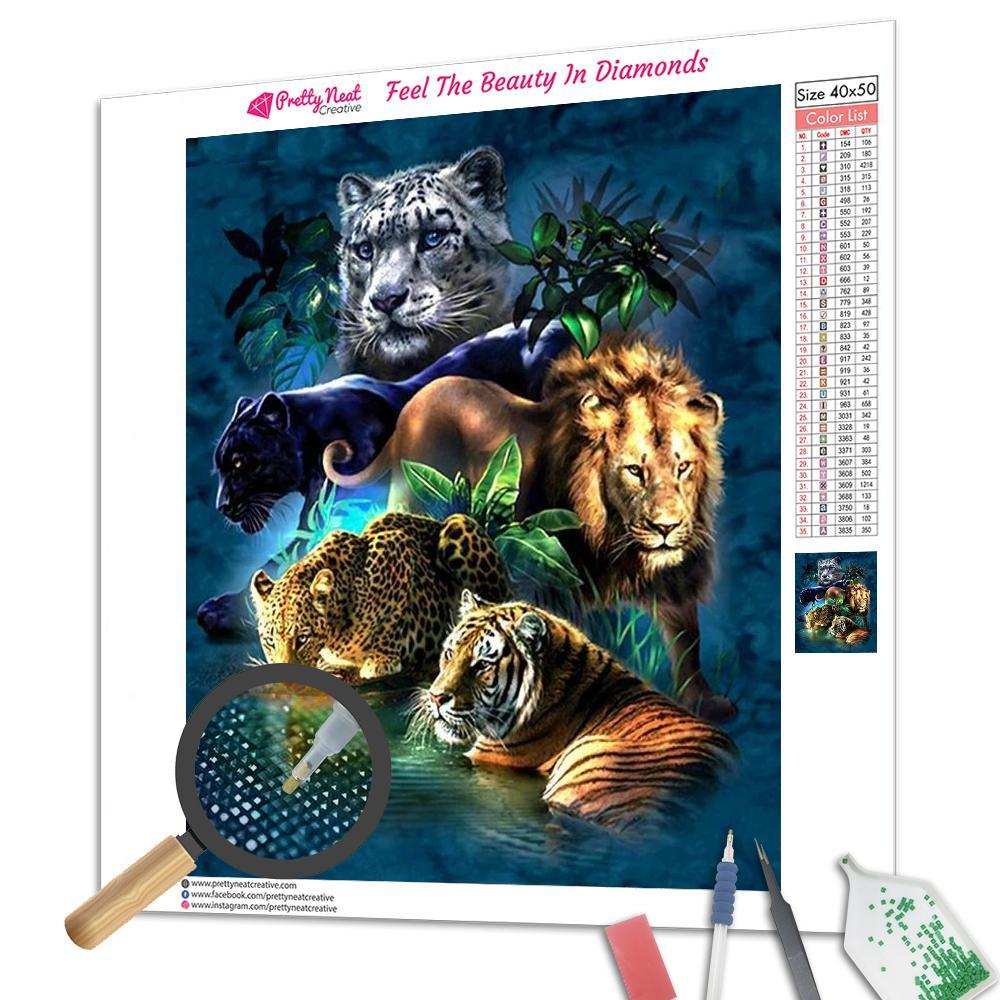 Cats Family 5D Diamond Painting