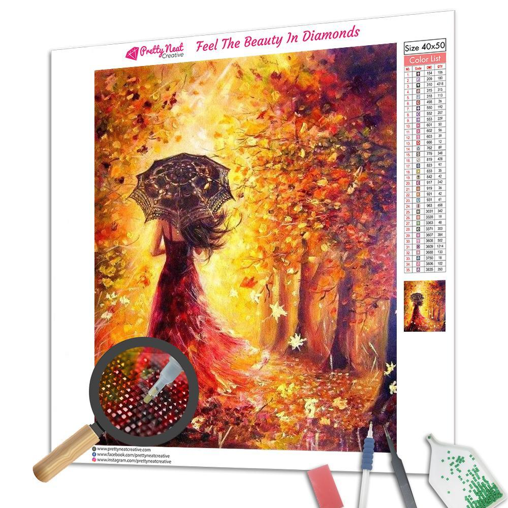 Clearance - August Girl Diamond Painting