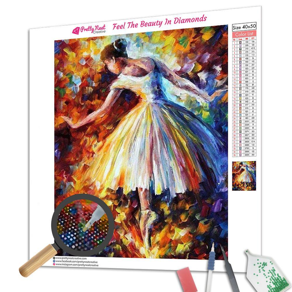 Clearance - Ballet Girl Diamond Painting