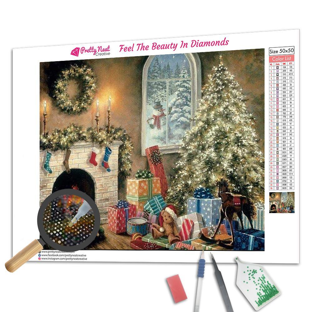 Clearance - Christmas in 1990 Diamond Painting