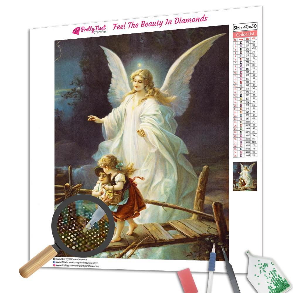 Clearance - Guardian Angel Diamond Painting