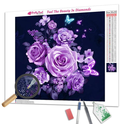 Clearance - Kits Rose Diamond Painting