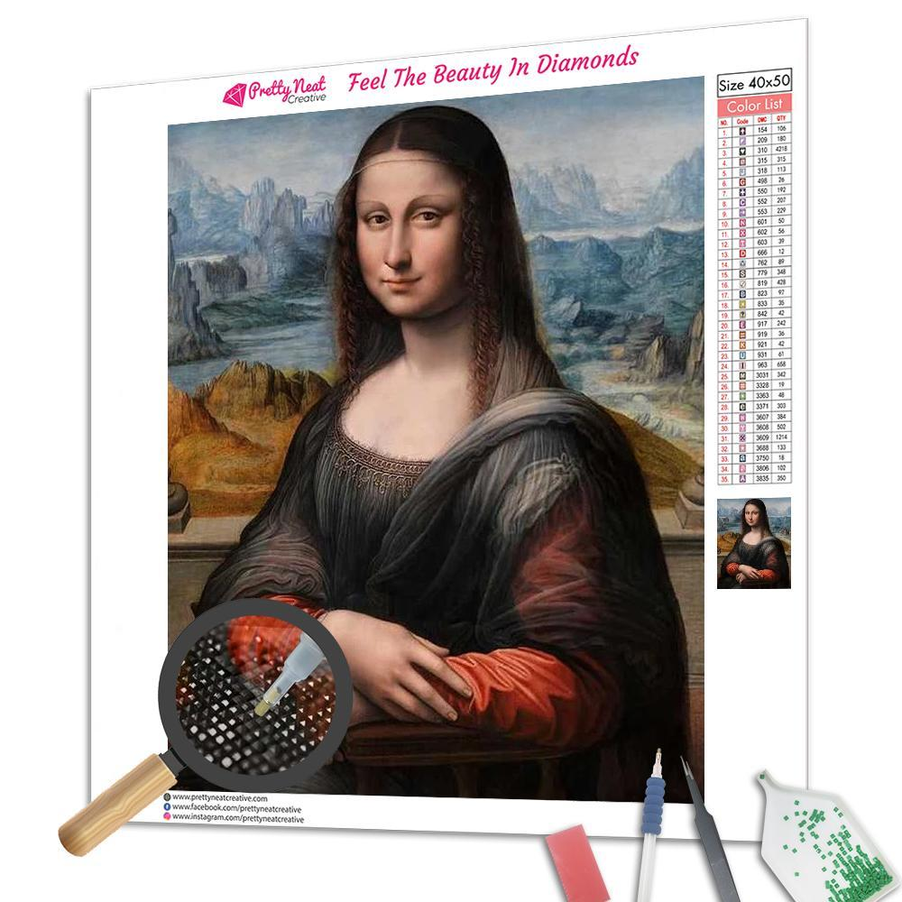 Clearance - Mona Lisa Diamond Painting