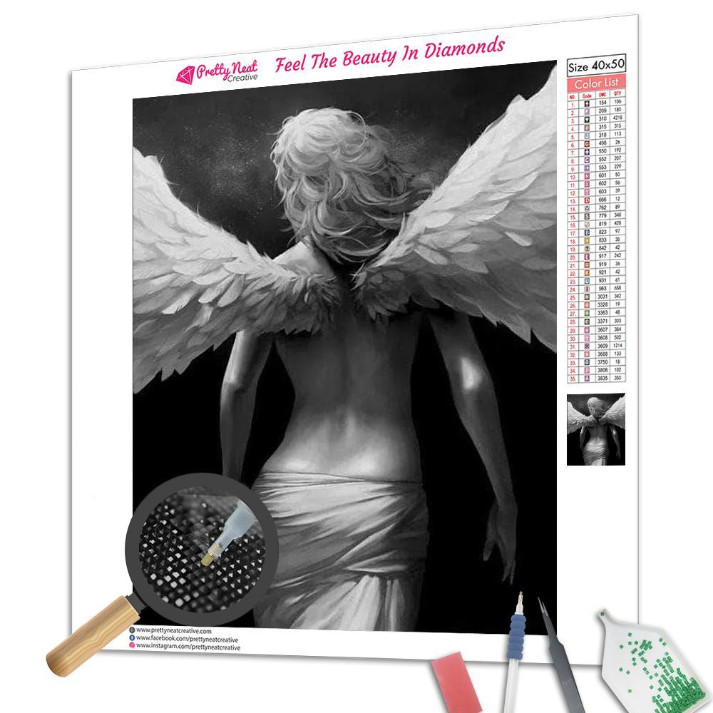 Clearance - Sexy Guardian Angel Square Diamond Painting