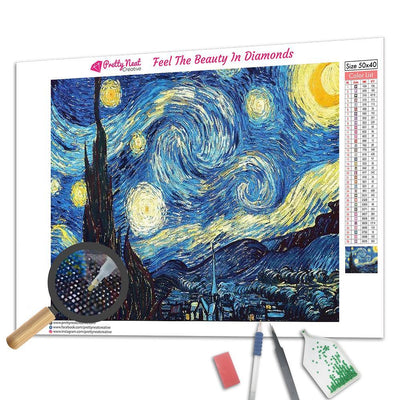 Clearance - Starry Night  Diamond Painting