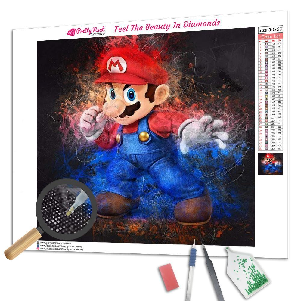 Clearance - Super Mario Diamond Painting